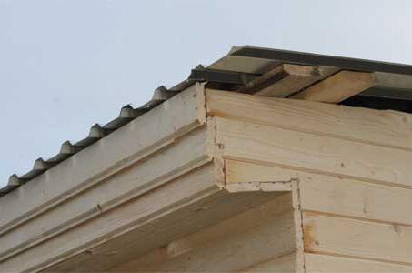 Протекает крыша в бытовке